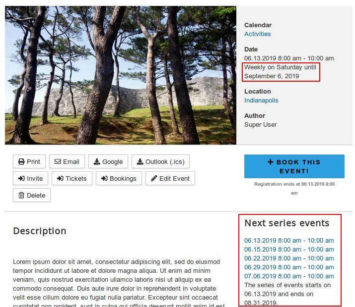 Joomla news about the Digital Peak project